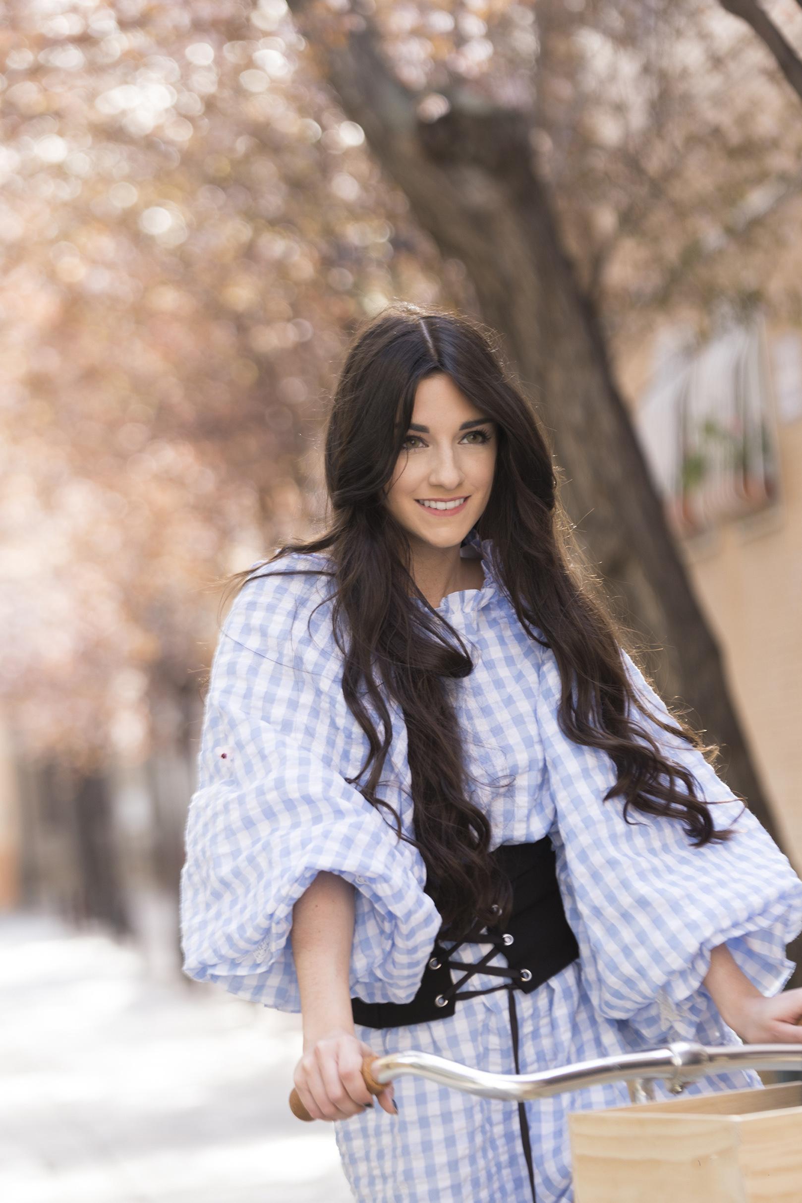 Peluqueria Zaragoza influencer Almudena Castellano @almucaste