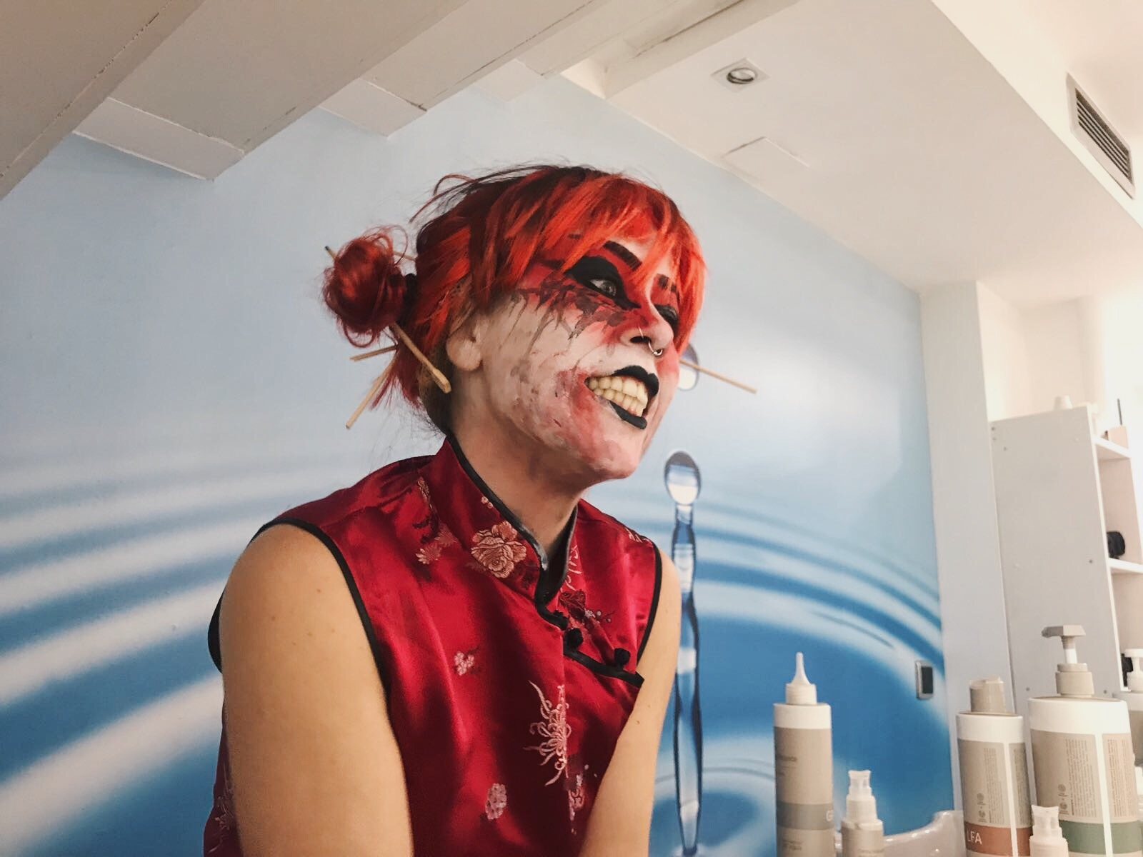 Halloween Zaragoza en Atrezzo peluquería