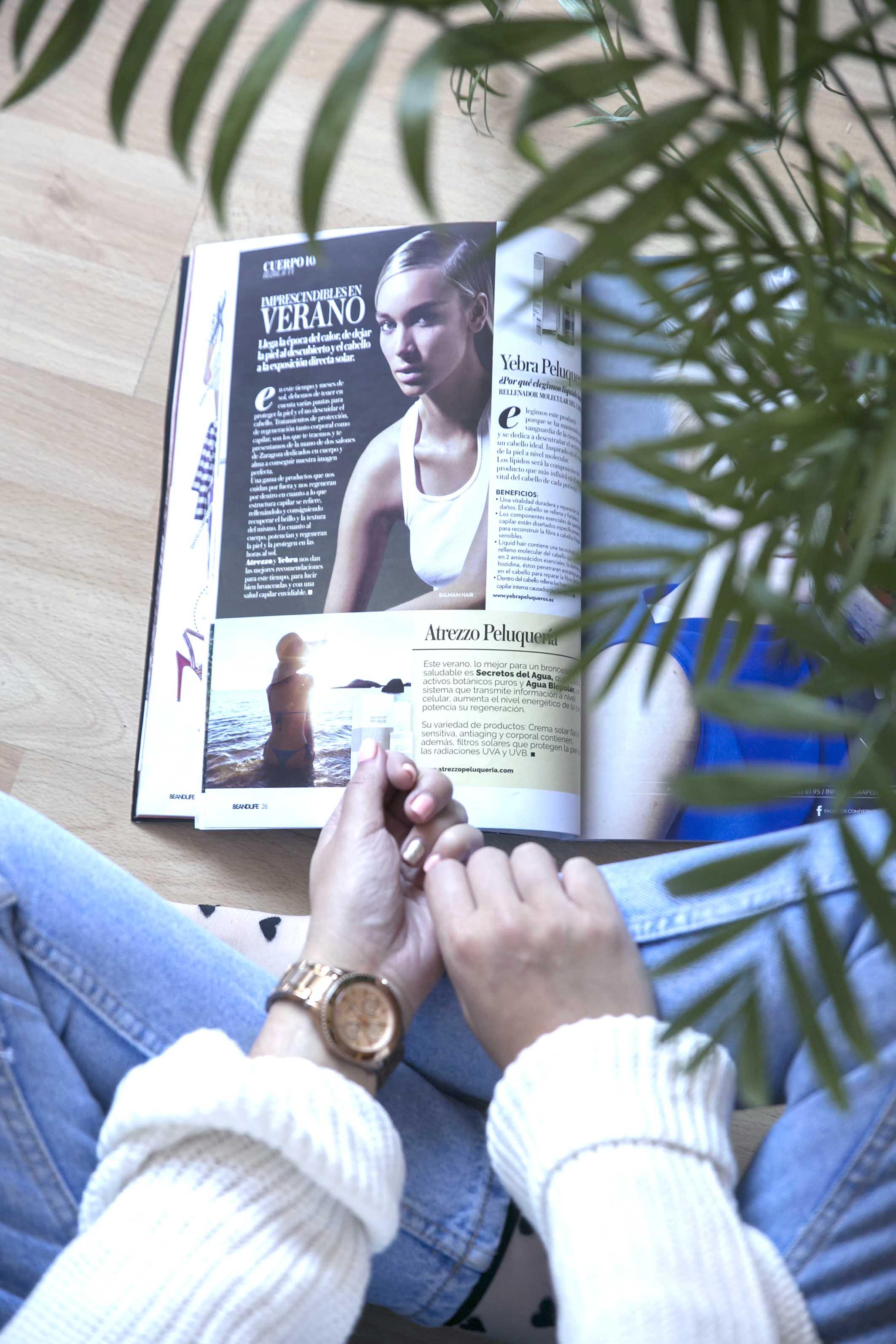 Beandlife Magazine Atrezzo Peluqueria Zaragoza