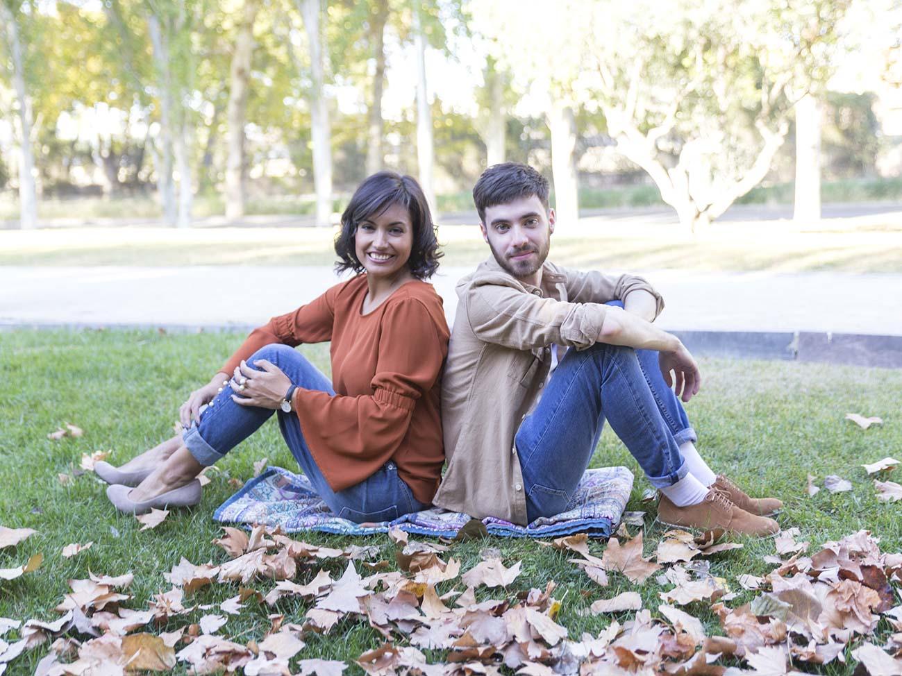Looks de otoño en Atrezzo Peluquería Zaragoza con Alex @galexkun y la blogger Mua Carmen y fotografías de Kinojam